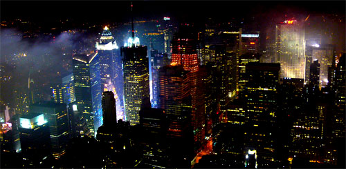 New york for Foto new york notte