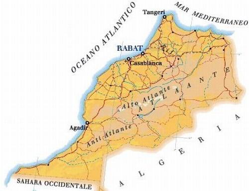 Dove Si Trova Il Marocco Cartina.Raid In Marocco