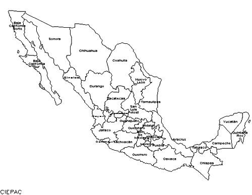 Cartina Geografica Politica Del Messico.Messico Piu Di Quanto Immagini