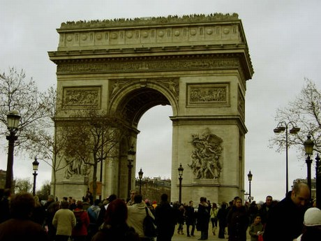 una passeggiata a parigi Mini-arco_trionfo
