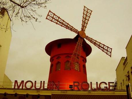 una passeggiata a parigi Mini-moulinrouge