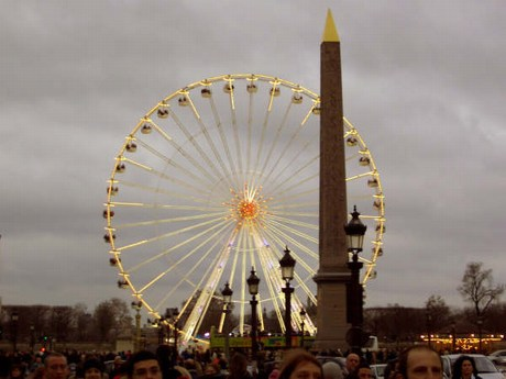 una passeggiata a parigi Mini-ruotapanoramica